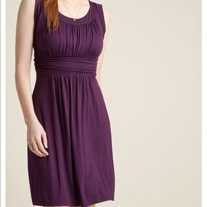 Gilli X ModCloth I Love Your Jersey Dress In Plum